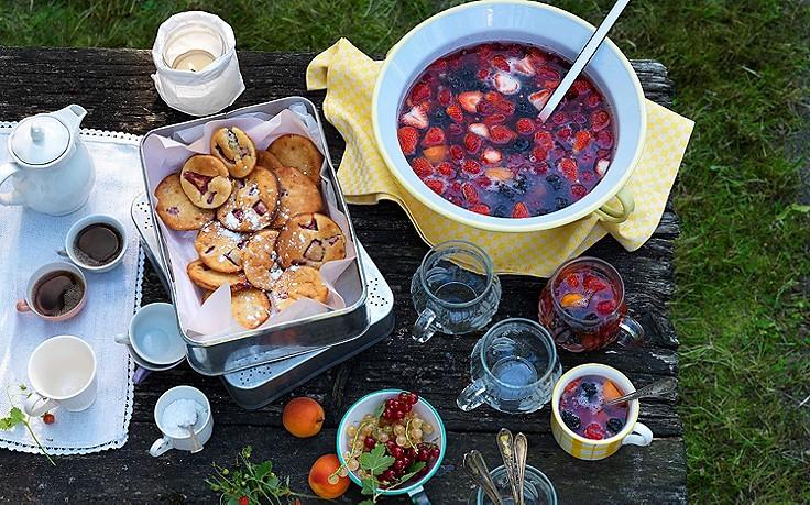 Grundrezept für Früchtebowle