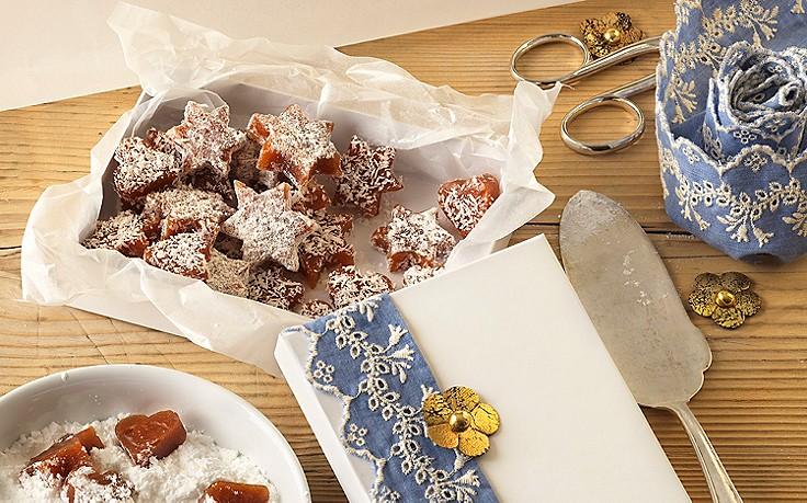 Süße Quittenbonbons