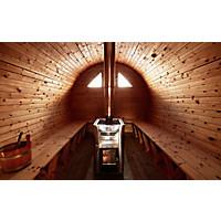 Sauna am Berg: 3 Hütten für warme Stunden