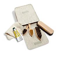 Schuhpflege-Set mit Filztasche