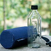 Glas-Trinkflasche