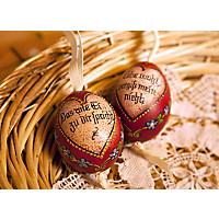 Handbemalte Eier Liebesspruch