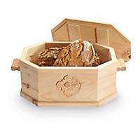 Brotdose mit Handschnitzerei