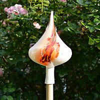 Gartenkegel Flamme