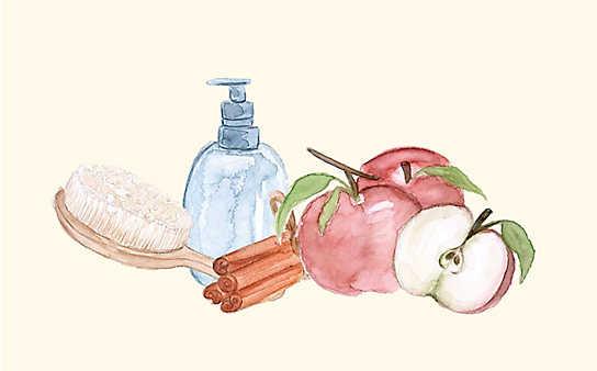 Grüne Kosmetik zum Selbermachen: Apfel-Shampoo