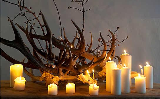8 Deko-Ideen mit Kerzen