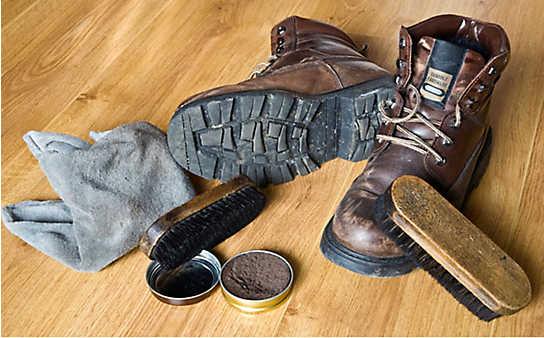 Richtig Schuhe putzen