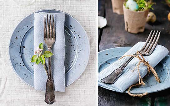 Inspiration: 5 Deko-Ideen für Tischgedecke