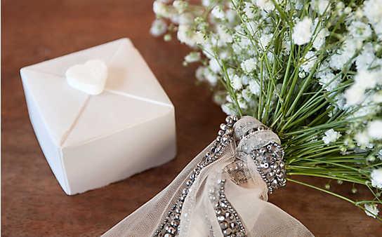 Hochzeitsdeko mit Schleierkraut