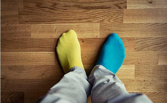 4 Ideen für einzelne Socken