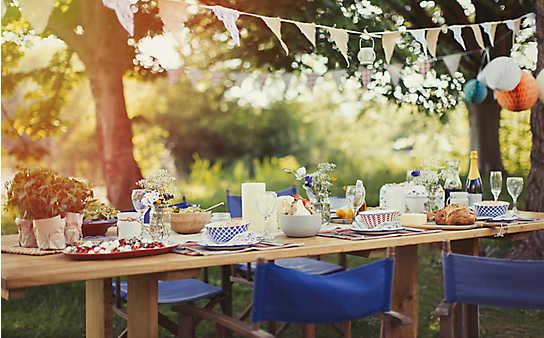 Zum Nachmachen: 5 Deko-Ideen fürs Gartenfest