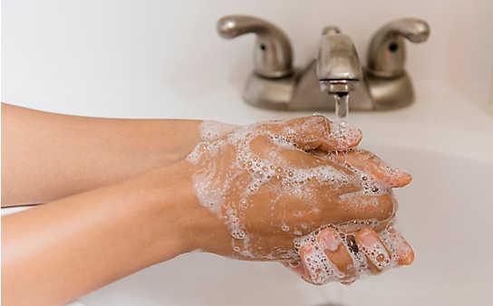 Waschen Sie Ihre Hände richtig?