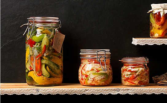5 Rezepte für sauer eingelegtes Gemüse