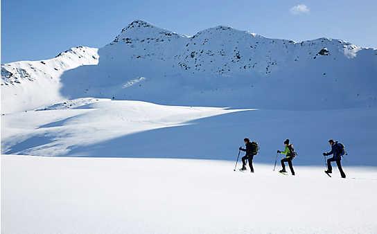 3 wunderbare Orte zum Schneeschuhwandern
