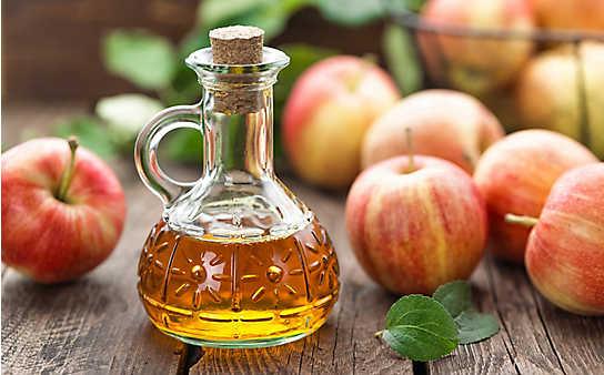 Weichspüler aus Apfelessig