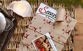Servus Bayern-Abo unterm Weihnachtsbaum