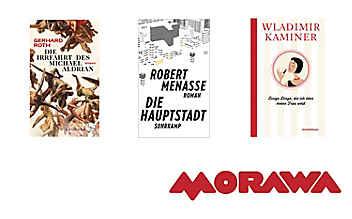 Roth, Menasse und Co.: Die neuen literaTOUR-Buchtipps