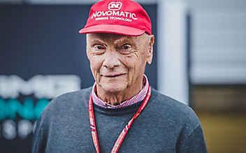 Niki Lauda nach Lungen-Transplantation am Weg der Besserung