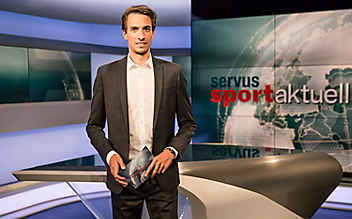 Unsere ServusTV-Moderatoren: Matthias Berger