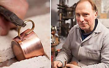 Kostbares aus Kupfer: Von Kannen, Kesseln und Radkappen