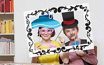 Basteln mit Kindern: lustige Glückwunschkarte
