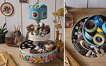 Bastel-Idee: Keksdosen-Etagere