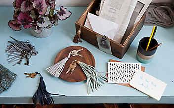 Ganz schön anhänglich: dekorative Quasten