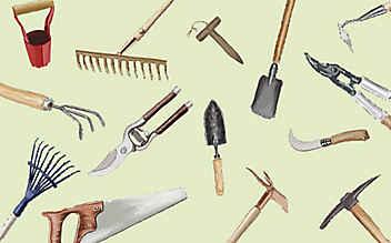 15 nützliche Gartenwerkzeuge