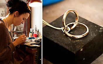 Die Goldschmiedin und die Symbole großer Liebe