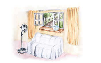 Kühle Wohnräume trotz Sommerhitze