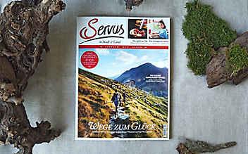 Die September-Ausgabe von Servus in Stadt & Land – jetzt erhältlich