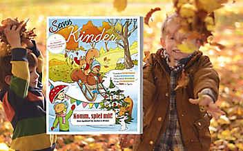 Das neue Servus Kinder: ein Magazin für große und kleine Entdecker