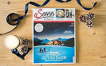 Die Januar-Ausgabe des Servus Magazins – jetzt erhältlich!