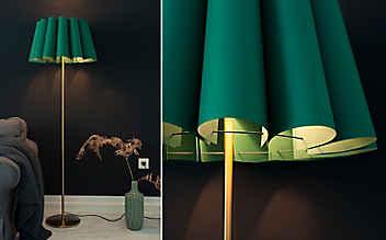 Basteln mit Servus: Vorlage für einen Lampenschirm