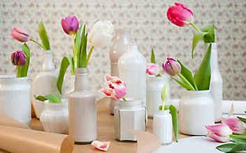 Bilder-Galerie: Dekorieren mit Tulpen