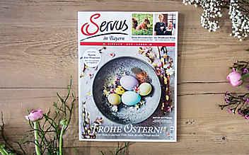 Die März-Ausgabe des Servus Magazins – jetzt erhältlich!