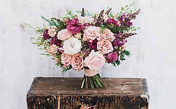 Unpassende Hochzeitsblumen