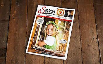 Die Juni-Ausgabe des Servus-Magazins ist jetzt erhältlich!