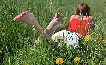 Fußpflege im Sommer