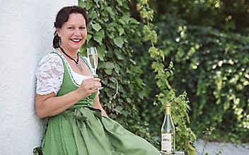 Die Hopfen-Secco-Macherin aus Bayern