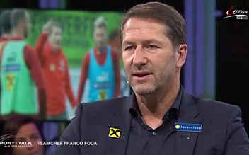 Franco Foda im Talk über sein neues Leben als Teamchef