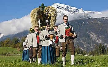 Erntedankfest-Bräuche in Österreich