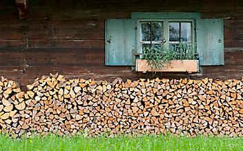 Brennholz richtig stapeln