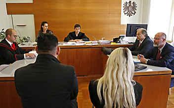 Becherwurf von Graz: Drei Monate unbedingte Haft für Steirer