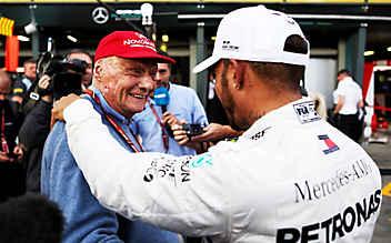 Lewis Hamilton: Mochte Niki Lauda anfangs nicht