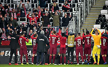 Salzburg muss trotz 5:2 auf EL-Aufstieg warten