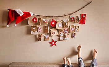 5 Ideen, womit man einen selbst gemachten Adventkalender befüllen kann
