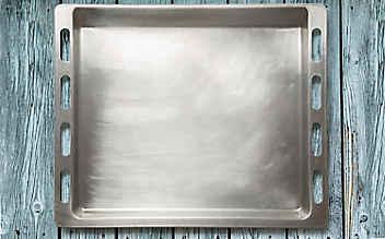 Backblech putzen ohne Schrubben
