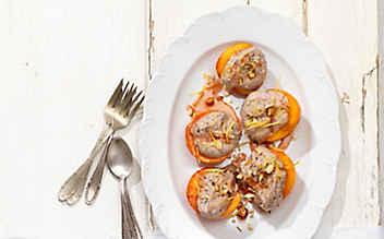 Gefüllter Pfirsich