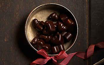 Christbaum-Schokolade zum Selbermachen